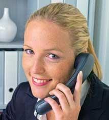 telefon - Wir helfen Ihnen!